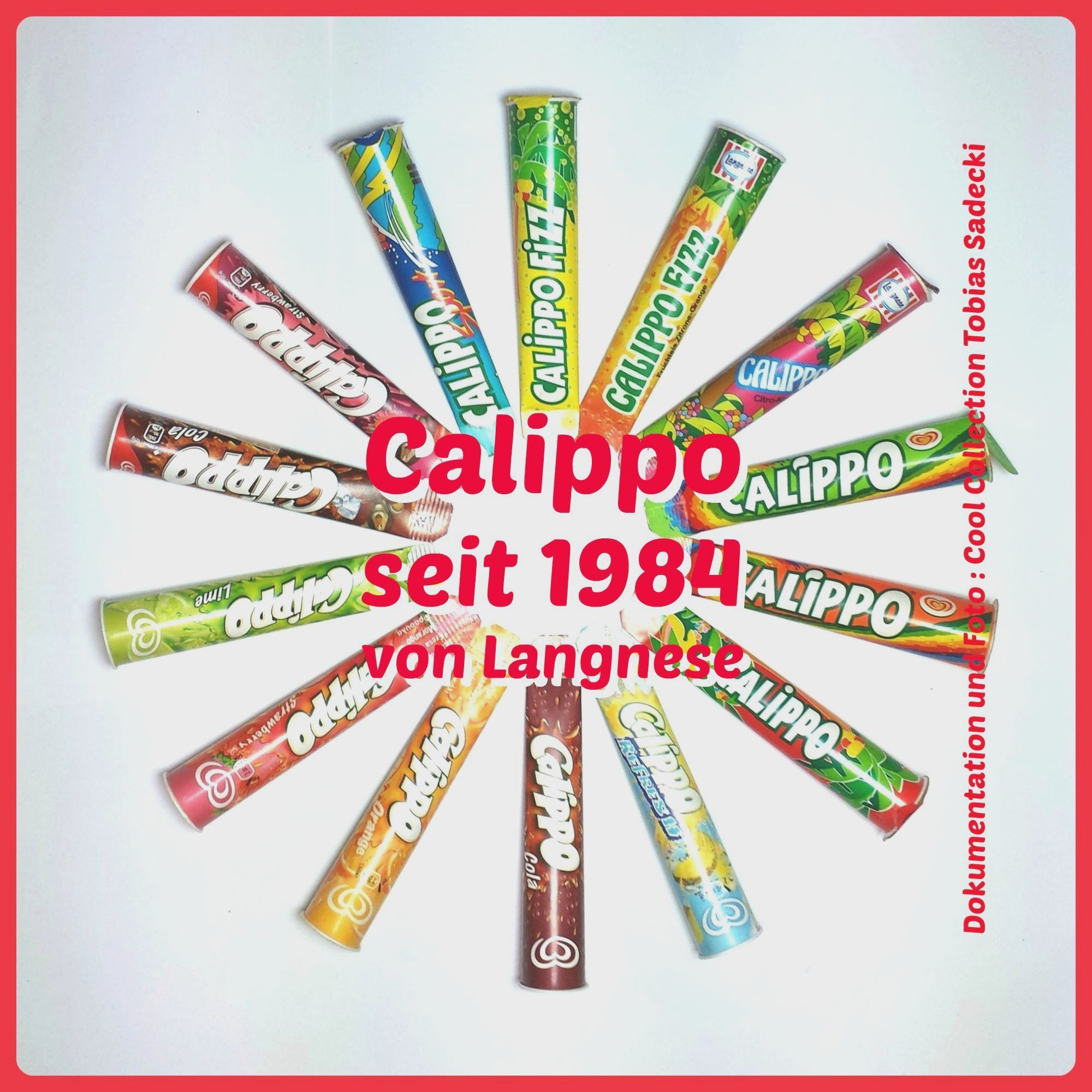 Calippo Eis Calippo Cool Collection Langnese Heartbrand Verpackungen