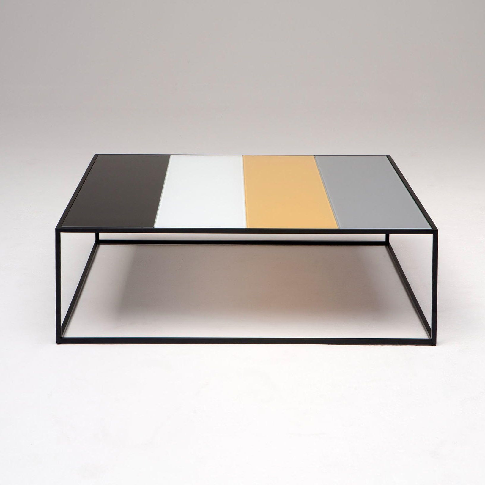 Dailyproductpick The Keys Coffee Table By Phase Design Is Made With Four Different Color Painted Glass Piece Coffee Table Coffee Table Design Furniture Design [ 1632 x 1632 Pixel ]