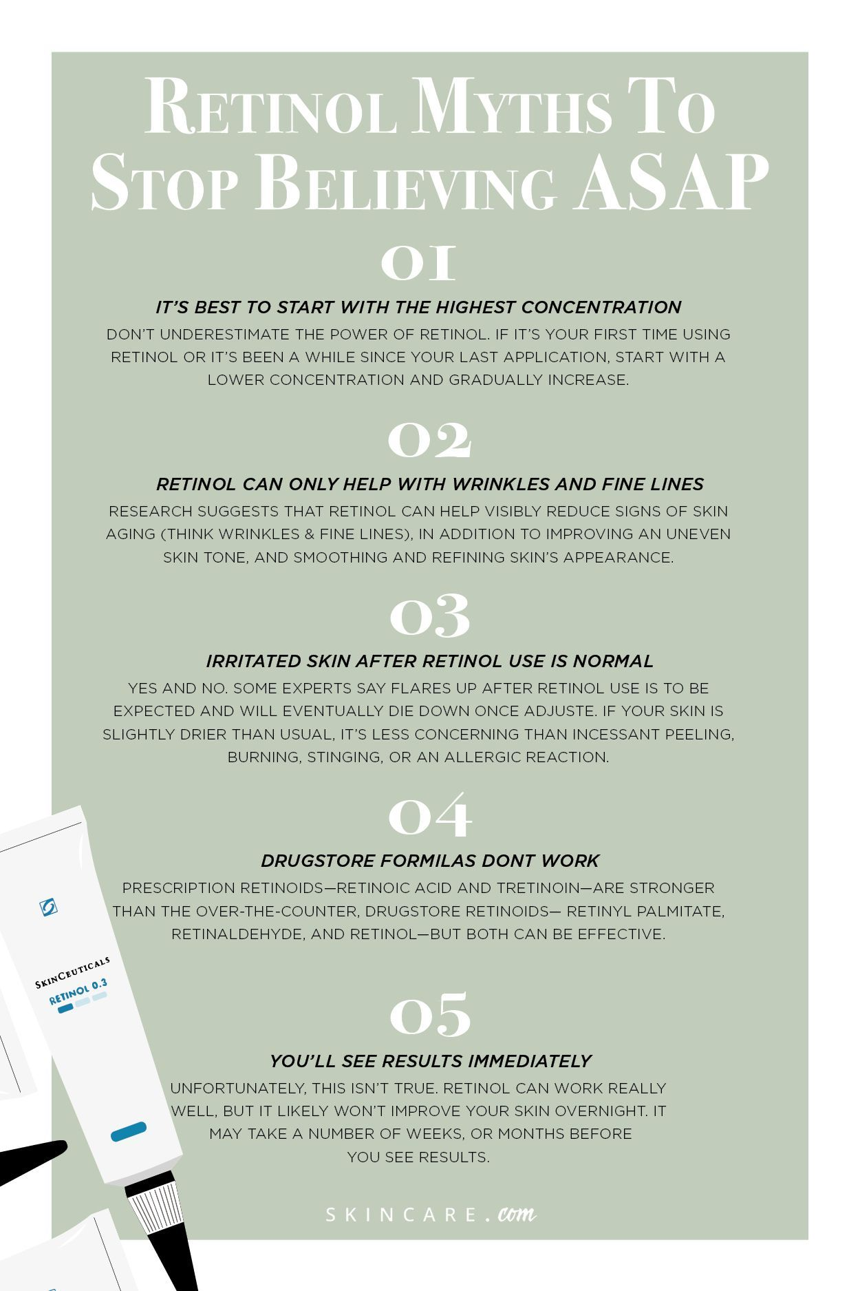 As With Most Uber Popular Skin Ingredients Retinol Is Not Without Its Fair Share Of False Information That S Why We In 2020 Retinol Skin Care Secrets Skin Treatments