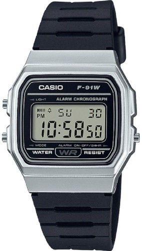 d603e2bb1e4 Men s Casio Classic Silver Digital Watch F91WM-7A