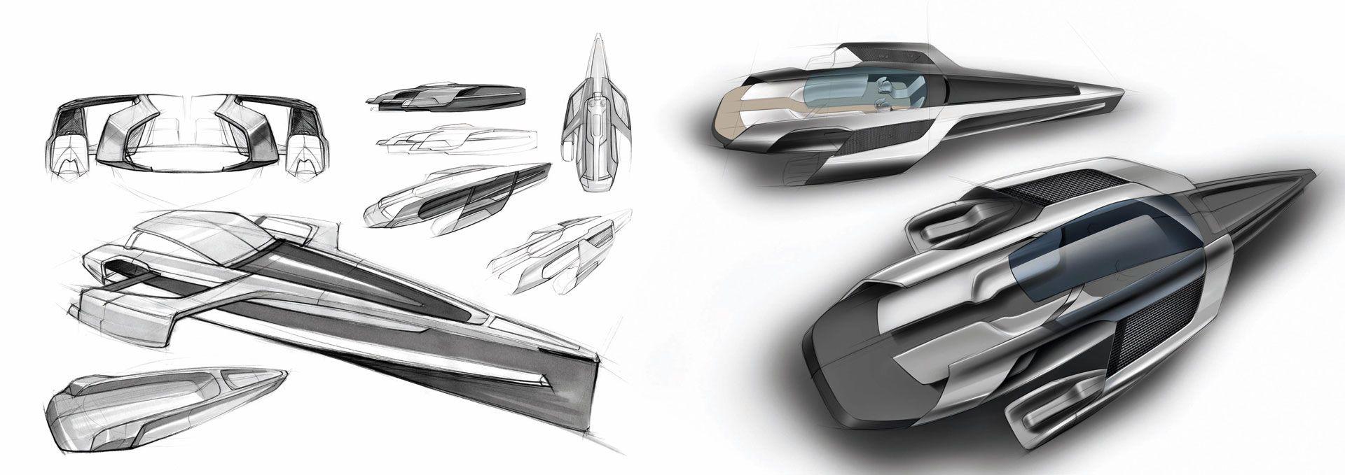 Audi Trimaran Concept Design Sketch Boats Pinterest Audi