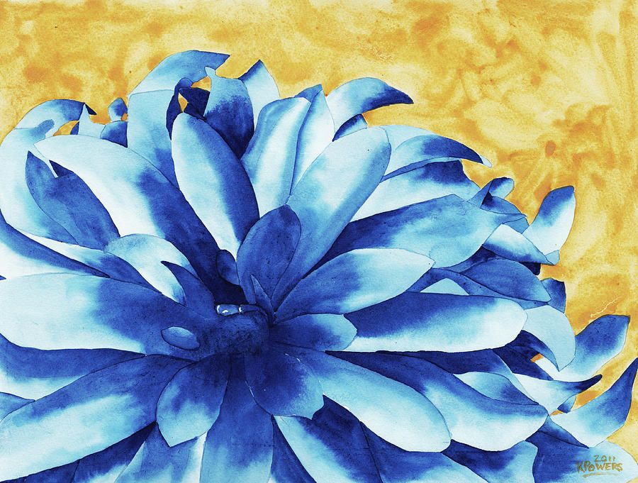 Two Tone By Ken Powers Elements Of Art Flower Art Painting