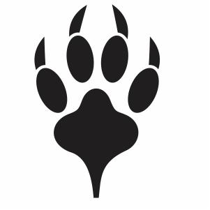 Pin On Animal Paw Vector File