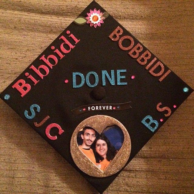 Finished my graduation cap! #SJCNYCaps #SJCNY #Classof2015 #Graduation #GraduationCap #Disney