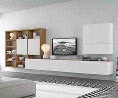 Wohnwand ikea  IKEA Wohnwand BESTÅ - ein flexibles Modulsystem mit Stil | Wohnung ...