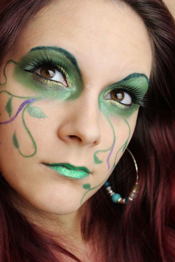 Green Fairy Make Up Schminktipps Waldfee Schminken Und Fasching