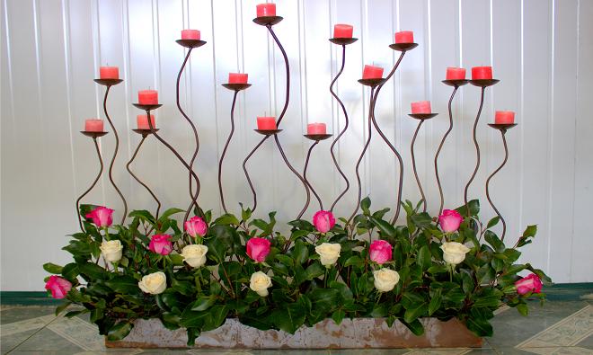 Imagen De Candelabros Para Quince Anos Buscar Con Google Decoracion De Unas Candelabros Arreglos Florales