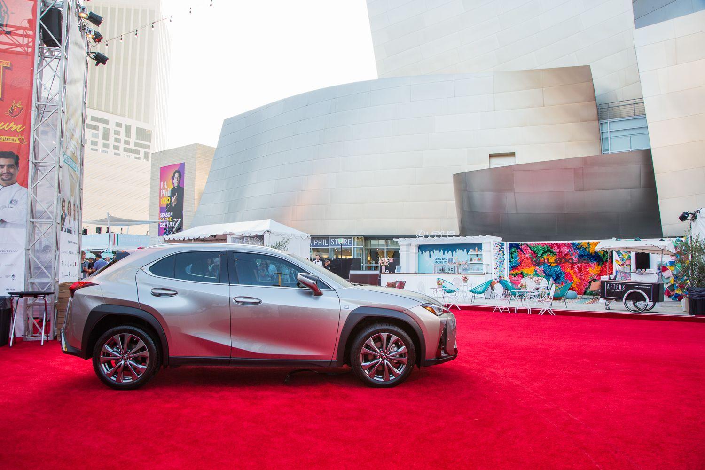 LexusNX F Sport Luxury crossovers, Los angeles food