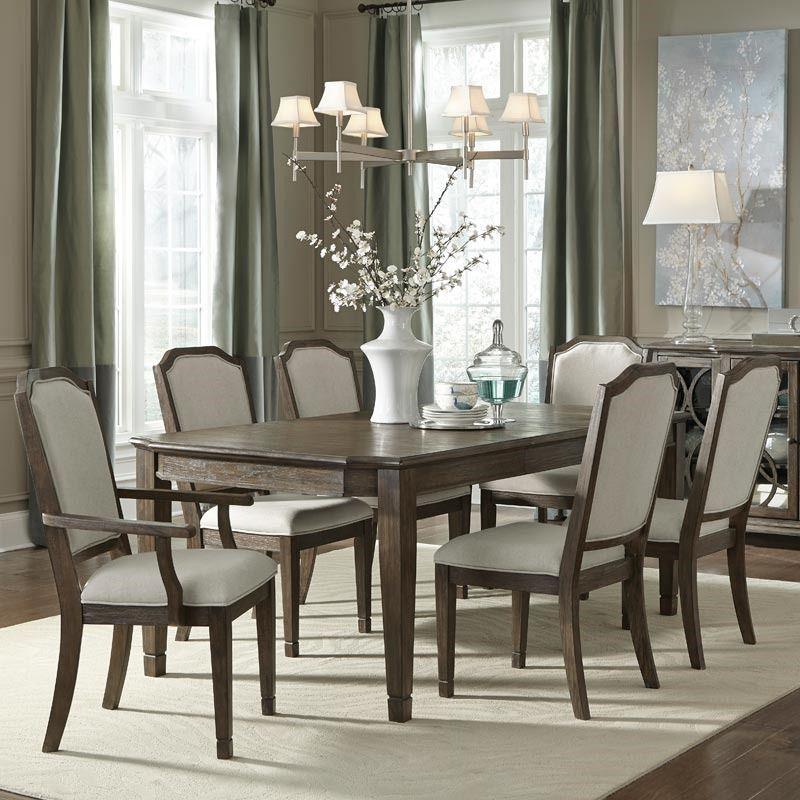 Furniture Hamilton 7 Piece Leg Table Dining