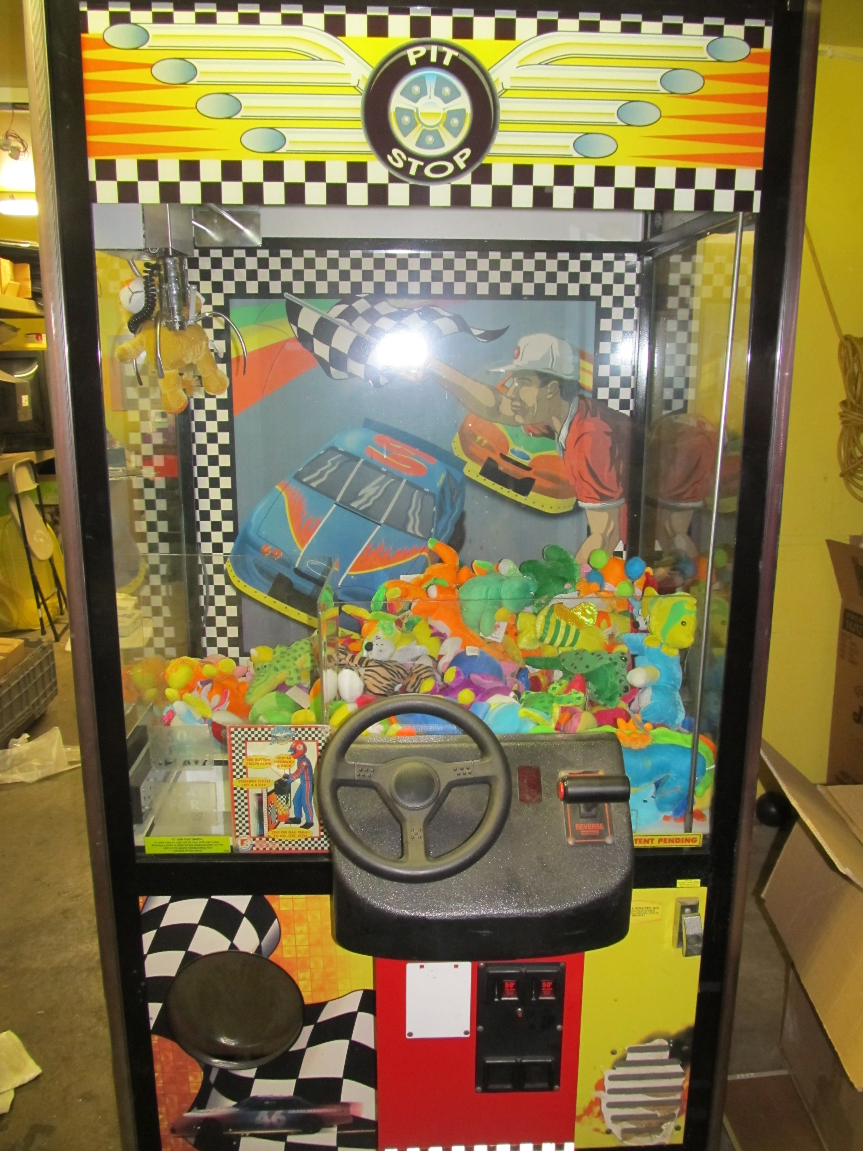 Crane machine game chicago party rentals carnival game