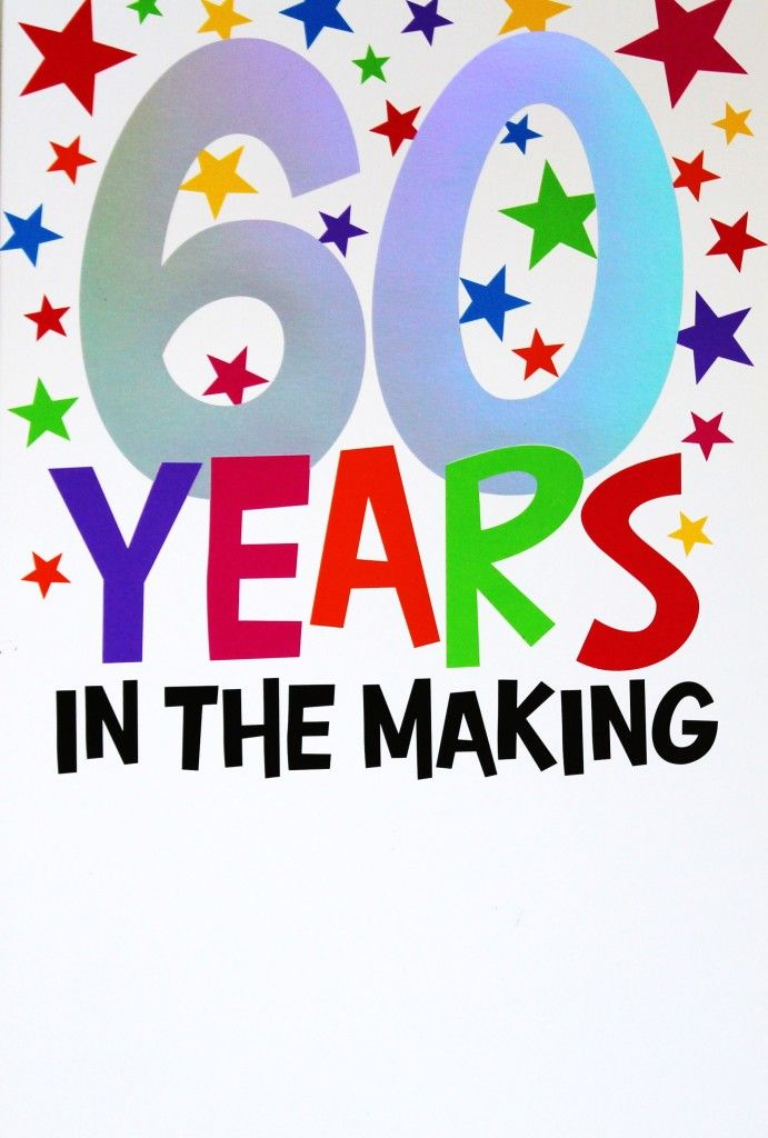 60th Birthday Images, Stock Photos & Vectors | Shutterstock