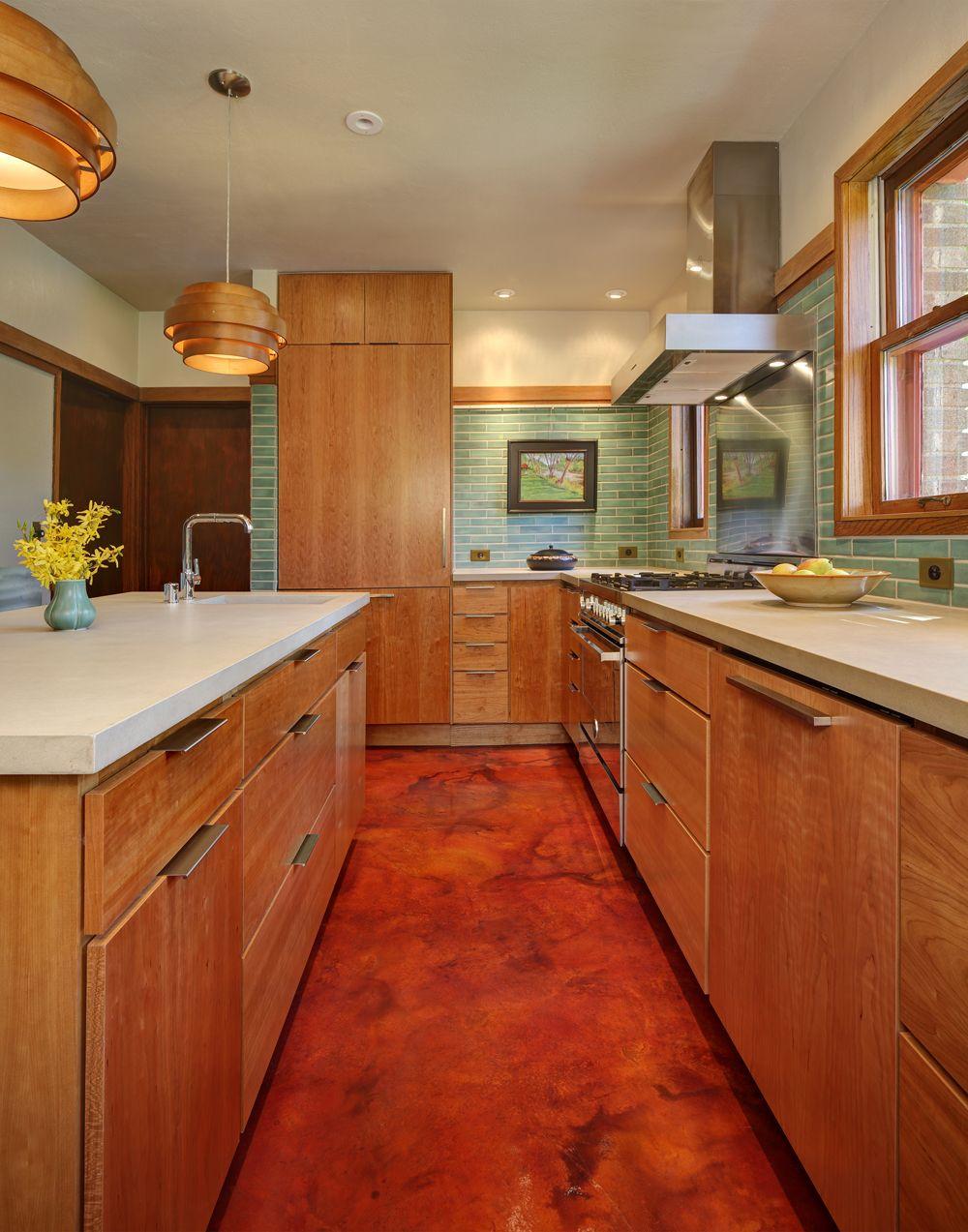 Milwaukee Bond Mid Century Modern Kitchen Tile Backsplash