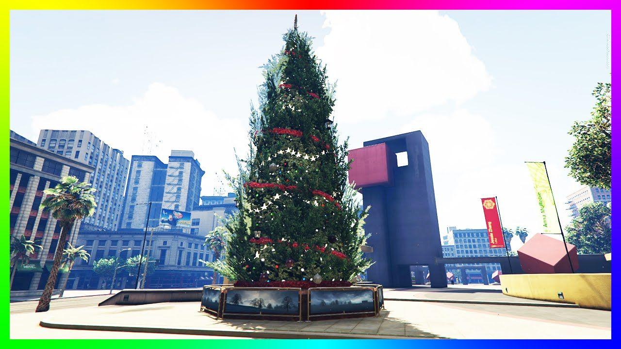 Gta 5 Christmas.Gta 5 Online Christmas Tree Launch Glitch Grand Theft