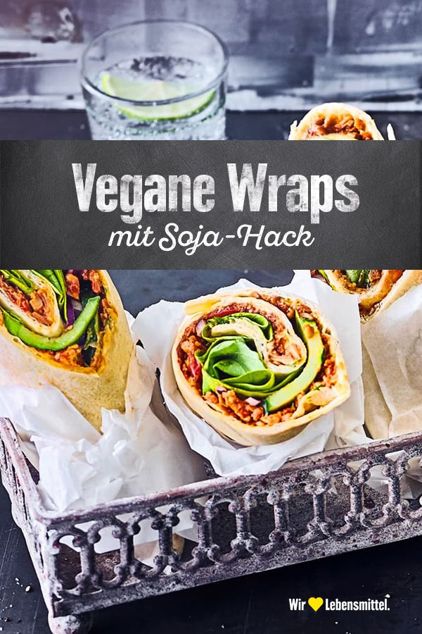 Vegane Wraps #crockpotmealprep