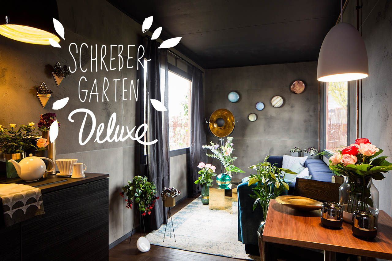 luxus design schrebergarten mitten in berlin eine idylle. Black Bedroom Furniture Sets. Home Design Ideas