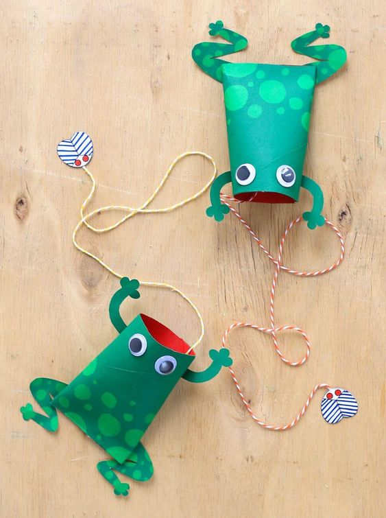 11 magnifiques animaux bricolés avec des rouleaux de papier - Wooloo