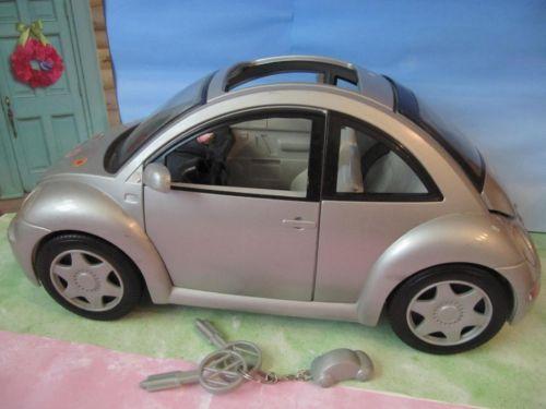 Original Barbie Vw Bug Rare Silver