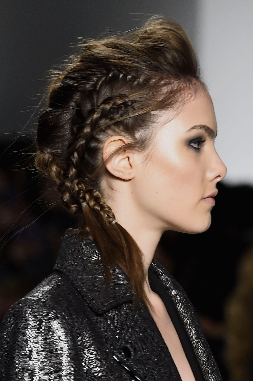 SpringSummer hair and makeup trends Beautiful braids Smoky