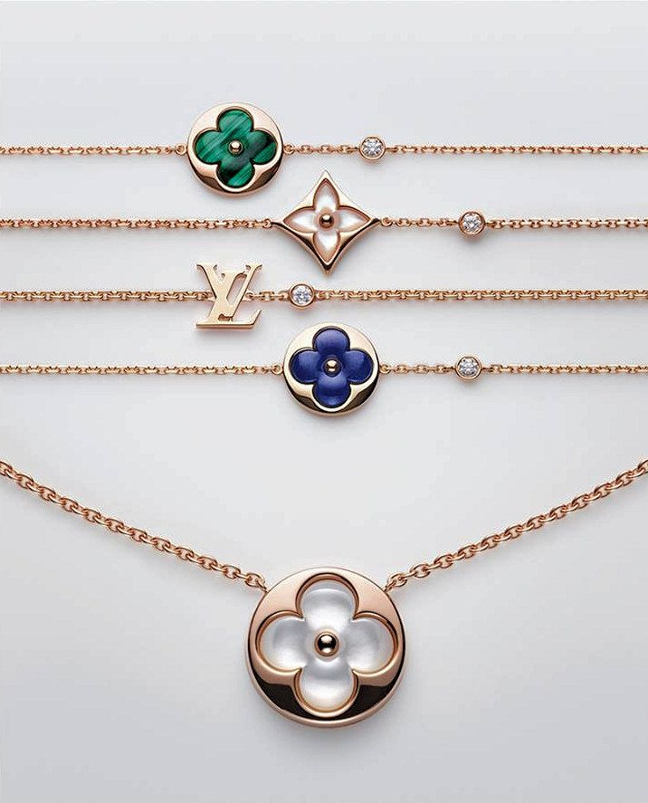 4b743f6158261 Chain choker with lv pendeant | Jewelry in 2019 | Jewelry, Louis ...