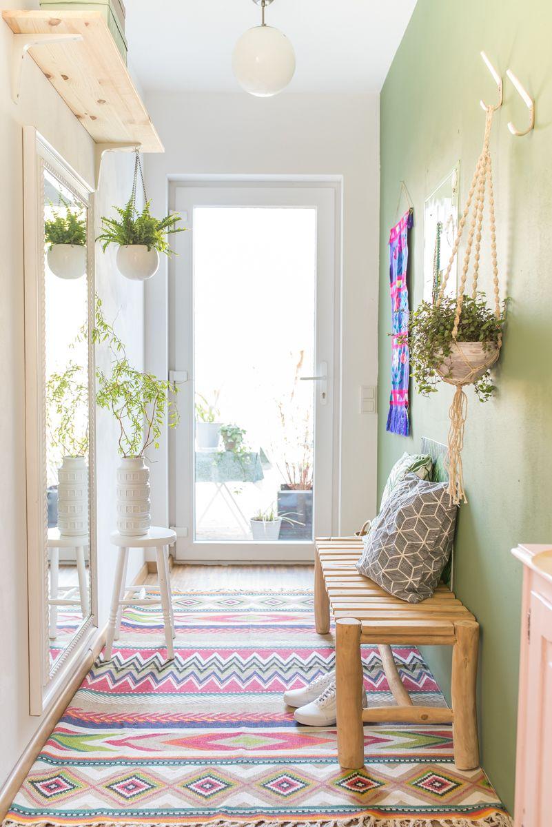 noch ein flur makeover vorher nachher vorher nachher bilder vintage deko und vorher nachher. Black Bedroom Furniture Sets. Home Design Ideas