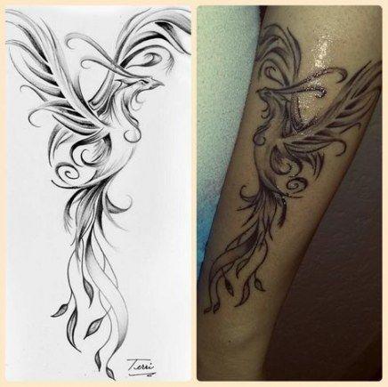 62 New Ideas For Tattoo Back Phoenix Life
