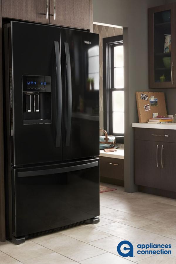 Whirlpool Wrf555sdhb 2 099 00 Black French Door Refrigerator French Door Refrigerator Home Appliances