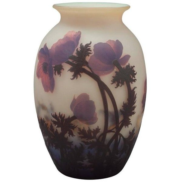 Preowned Muller Freres Vase, Circa 1920 ($12,500) ❤ liked on Polyvore featuring home, home decor, vases and multiple