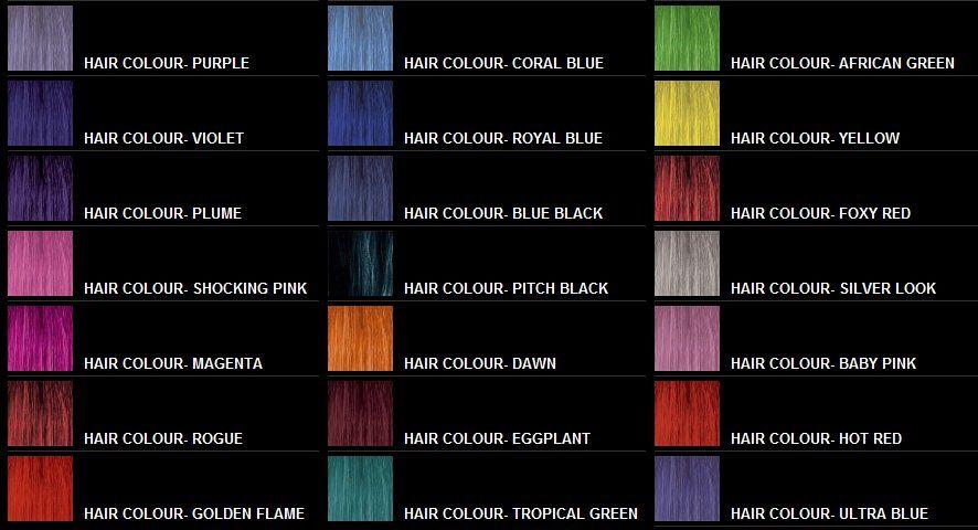 Stargazer Hair Dye Google Search Yellow Hair Color Blue Black