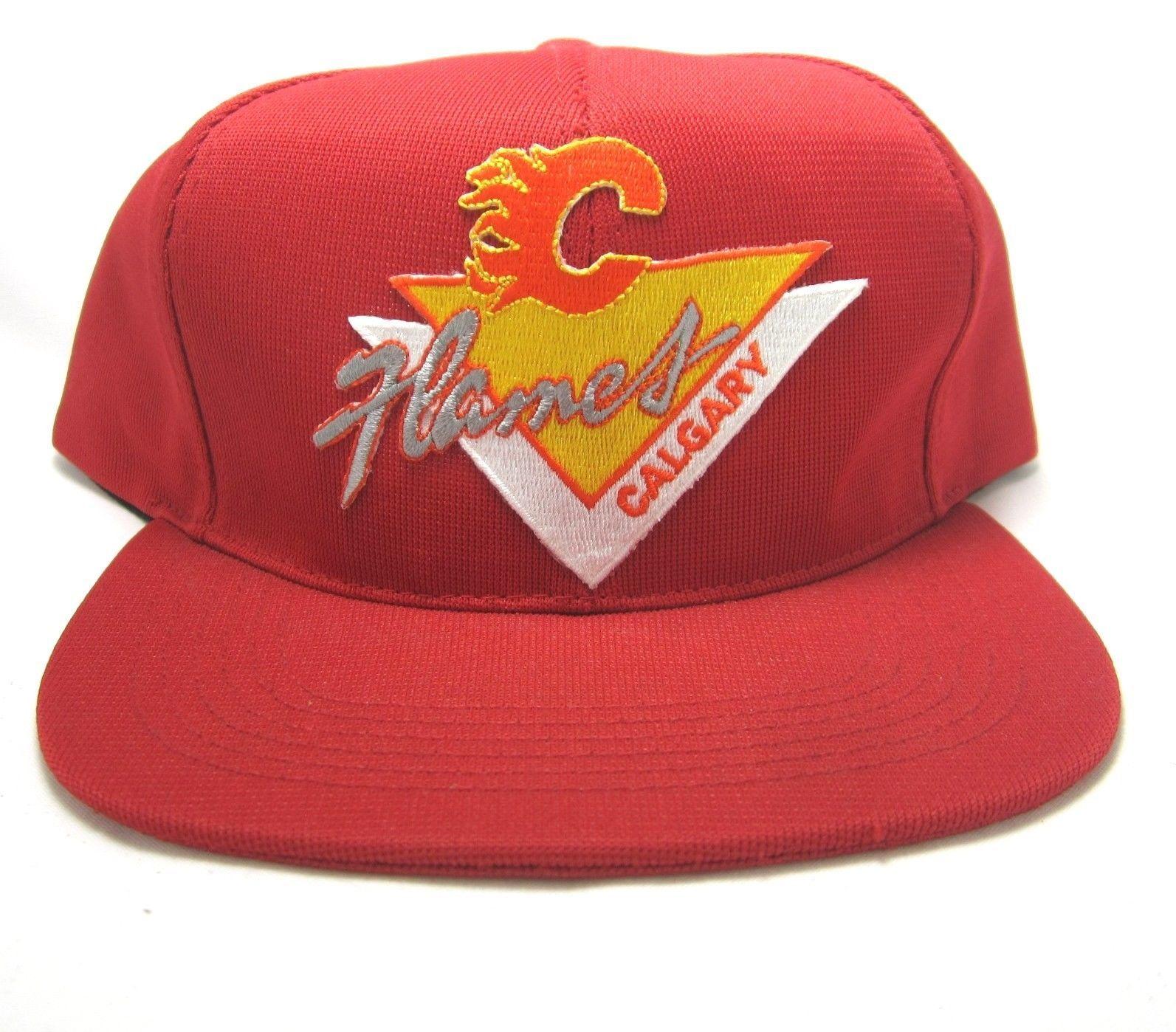 Vintage NHL Calgary Flames Snapback (Northstar brand