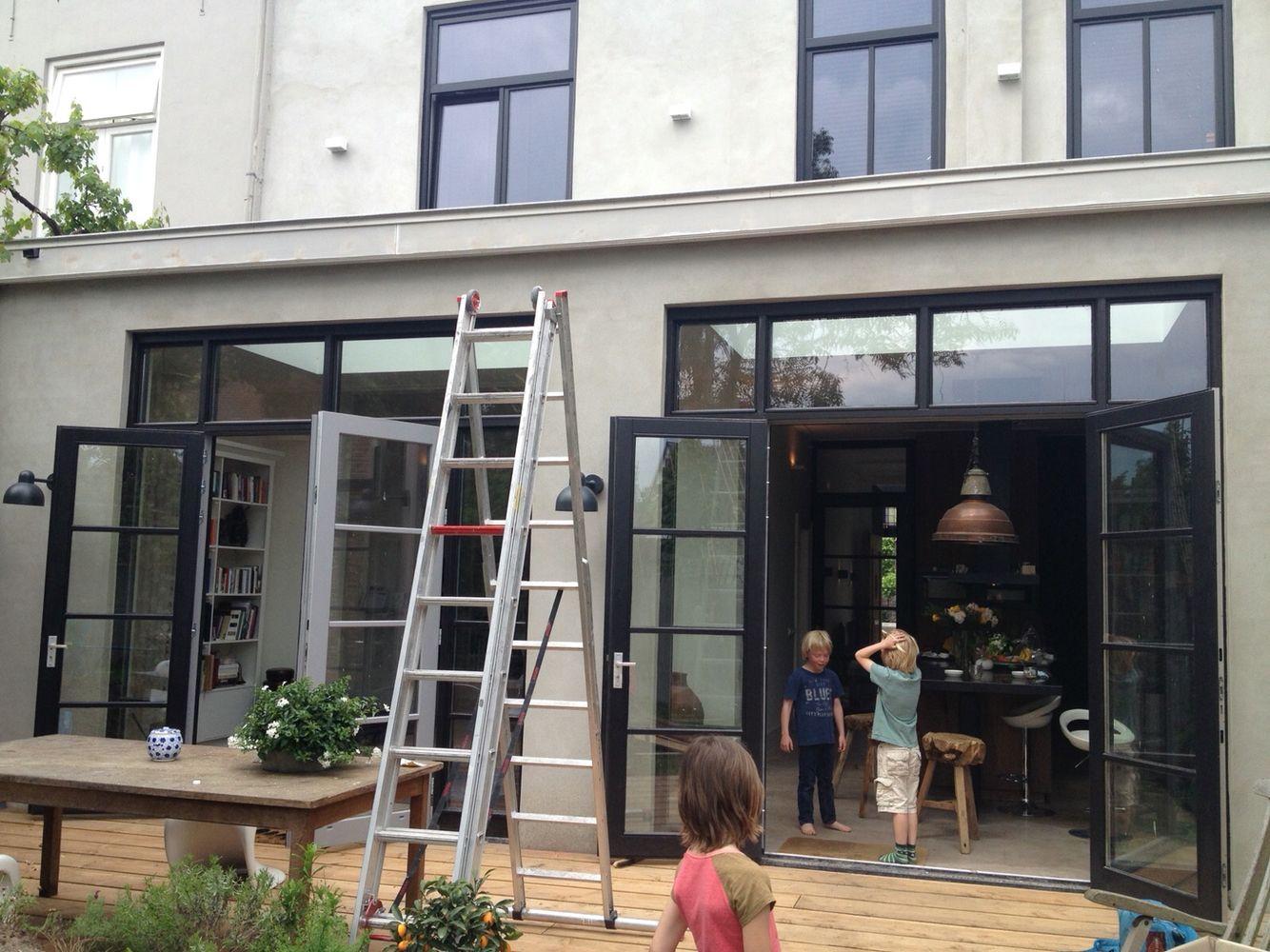 Uitbouw voorbeeld moodboard voor martijn doors patio doors en