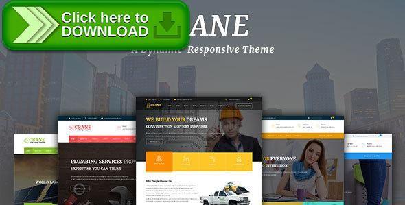 Free nulled Crane - Multipurpose WordPress Theme download ...