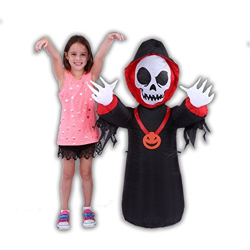 Blow up Inflatable Halloween Decorations Kids Love It Easy Setup - outdoor inflatable halloween decorations