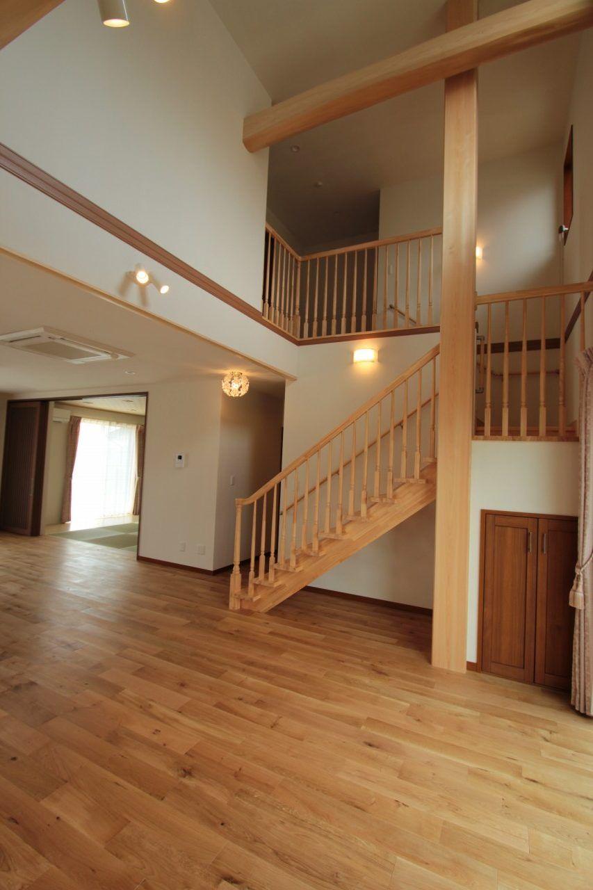自然素材とバリアフリーの優しい家 浜松市の新築一戸建て注文住宅