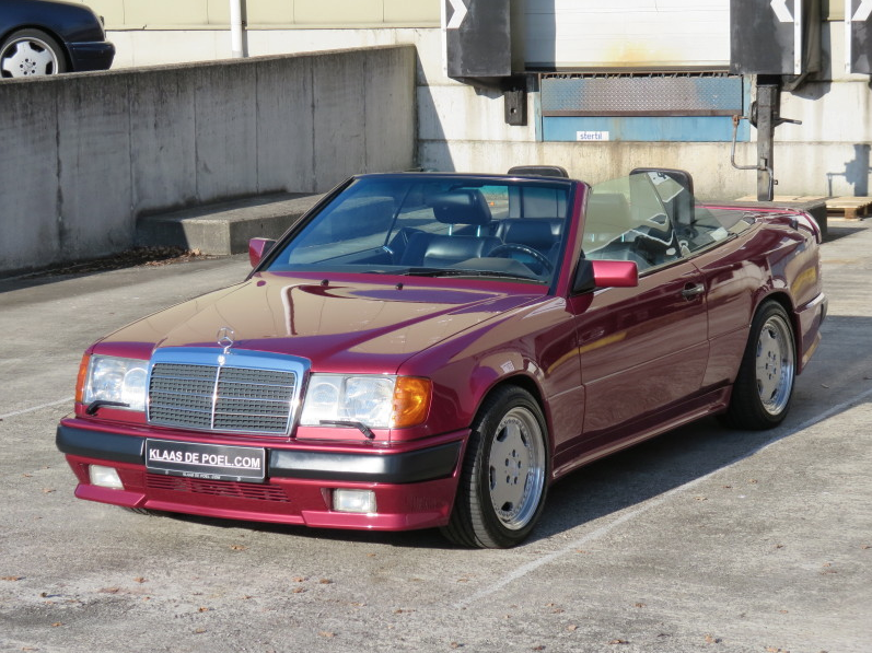 Mercedes W124 300ce 300 Ce Amg 3 4 Cabriolet