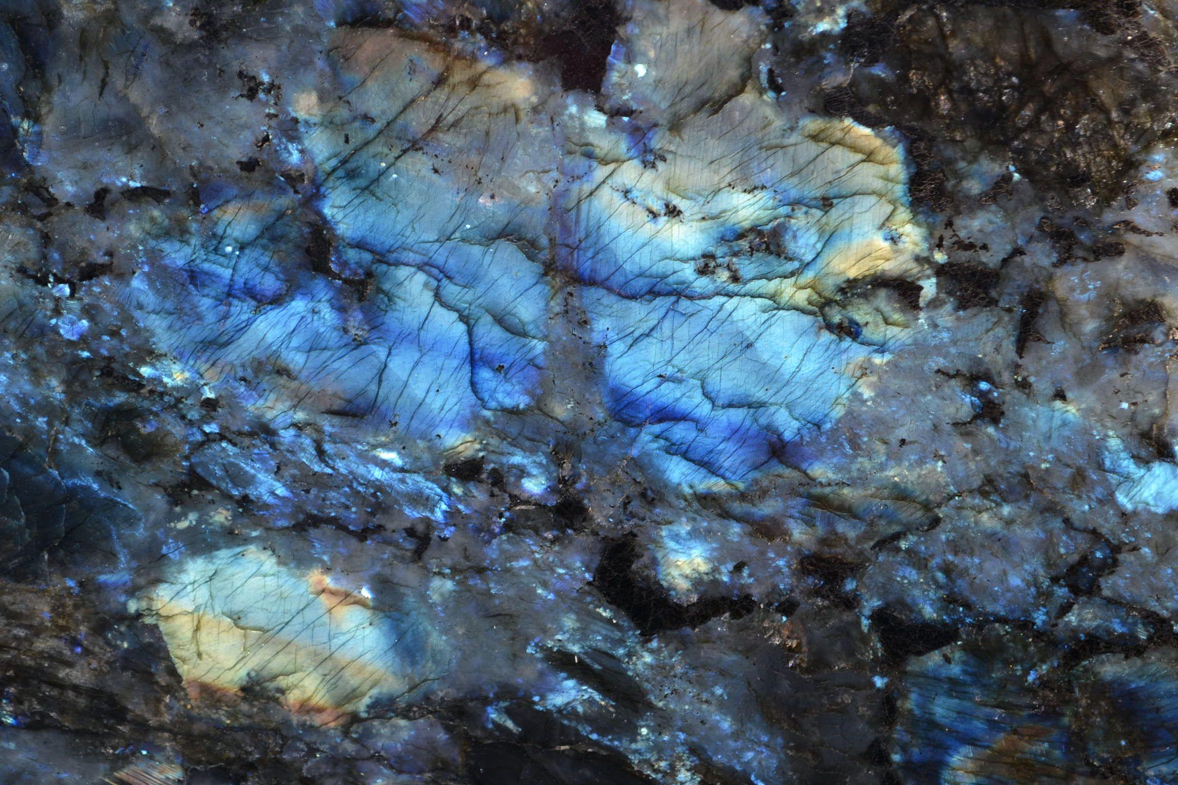 Our Latest Lemurian Blue Closeup Wow The Stone