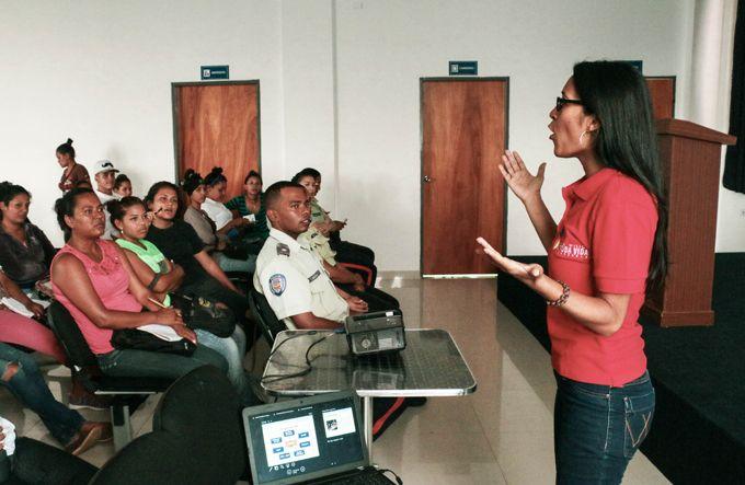 Chamos libertadorenses recibieron taller en materia de responsabilidad penal