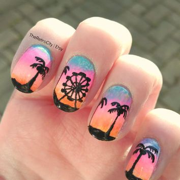 California nail designs gallery nail art and nail design ideas coachella summer california tropical colorful nail art false coachella summer california tropical colorful nail art false prinsesfo Choice Image