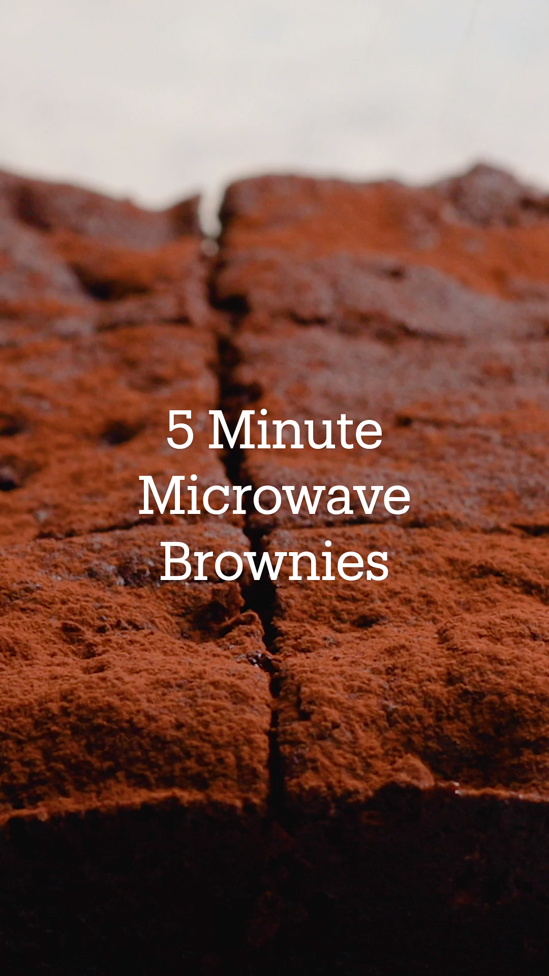 Photo of 5 Minute Microwave Brownies