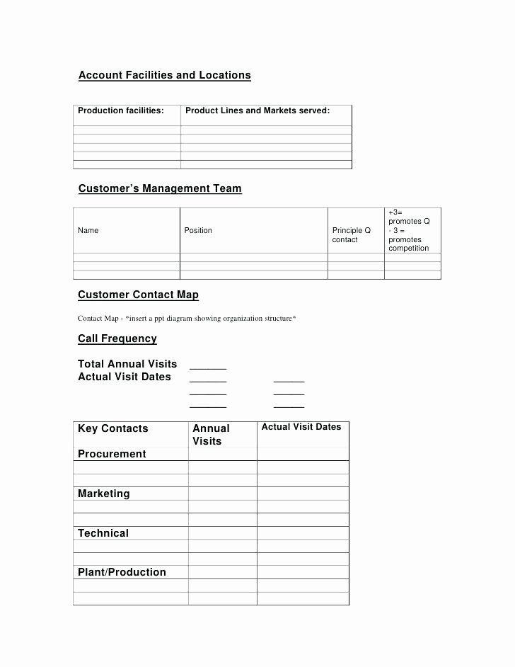 Strategic Account Plan Template Luxury Key Account Management Plan Strategic Review Templa Business Plan Template Business Plan Template Free Gym Business Plan