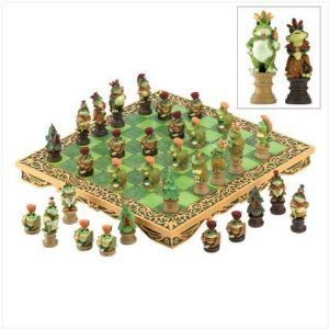 Frog Chess Game