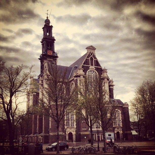 Westerkerk in Amsterdam, Noord-Holland
