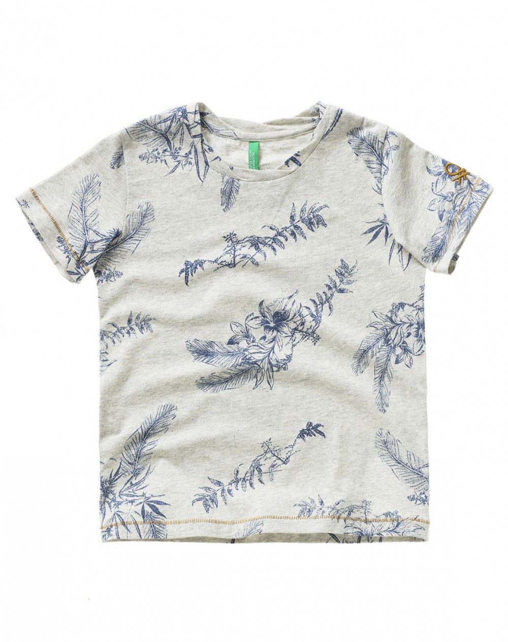 345fe810 Patterned t-shirt - T-SHIRTS AND POLO - BOY - KIDS | BOYSWEAR SS17