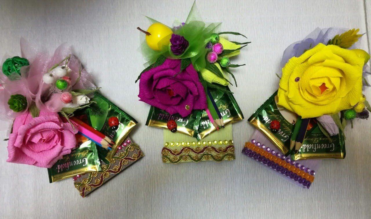 Шоколад в цветах своими руками
