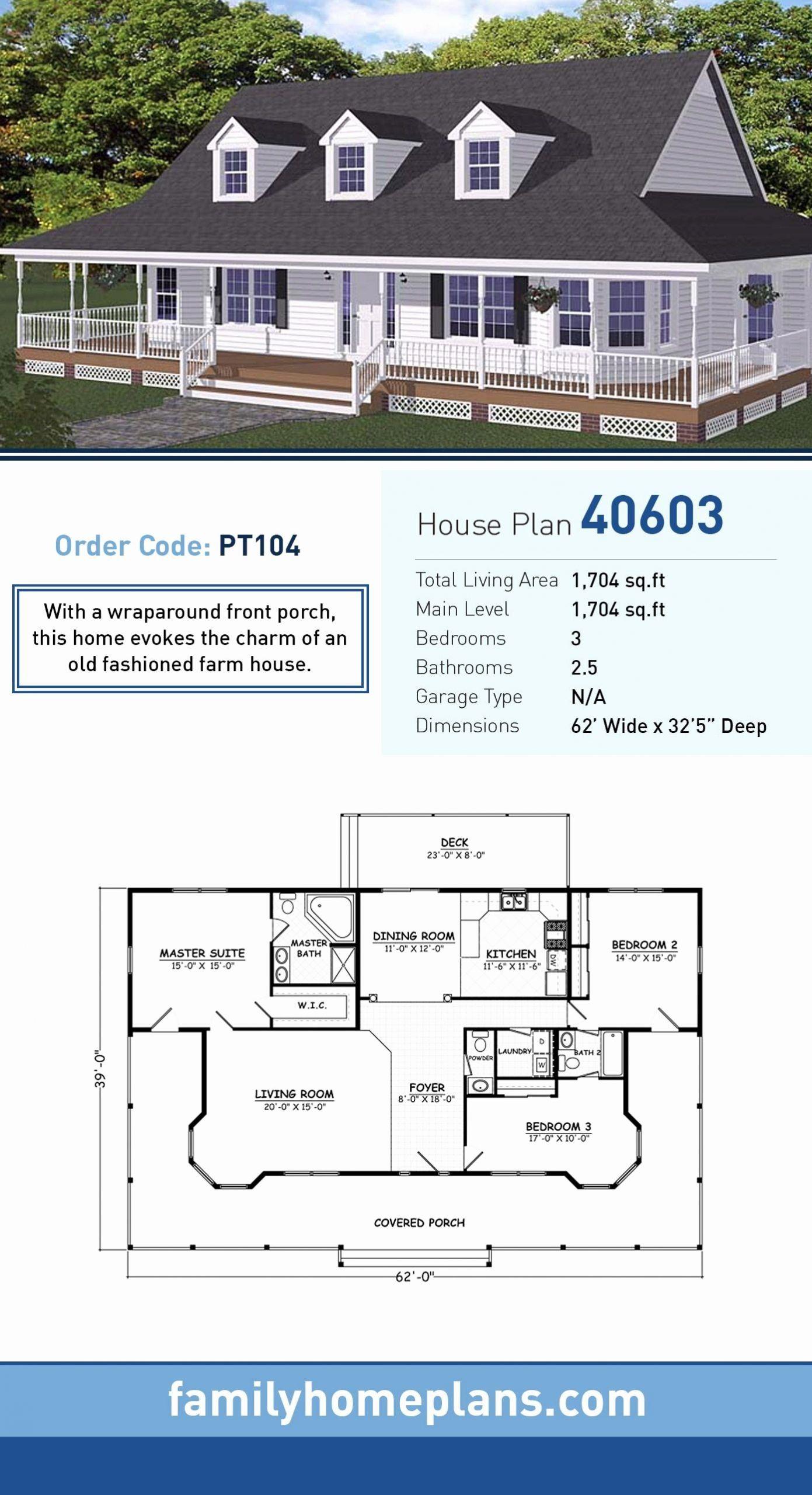 2 Bedroom Farmhouse House Plans New Farmhouse Plan In 2020 Small Farmhouse Plans Farmhouse Plans Ranch House Plans