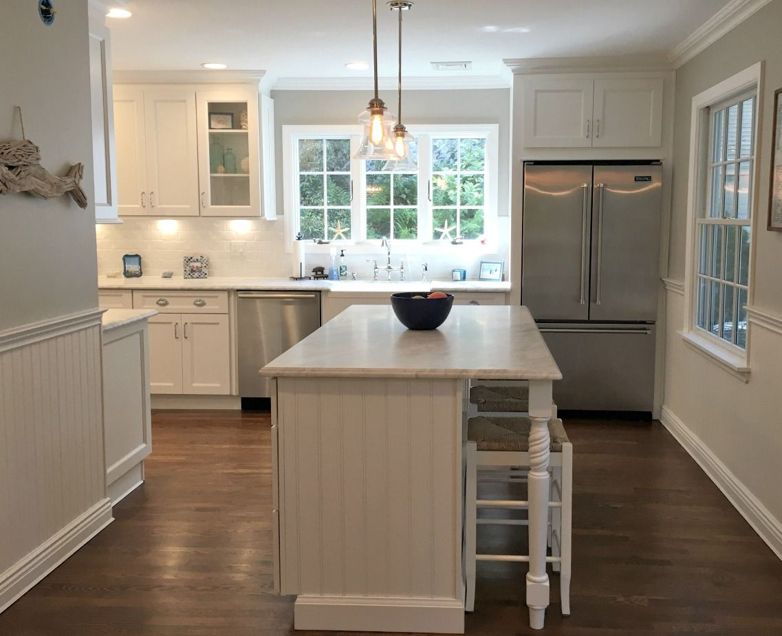 Providence White PreAssembled Kitchen Cabinets The RTA Store ...