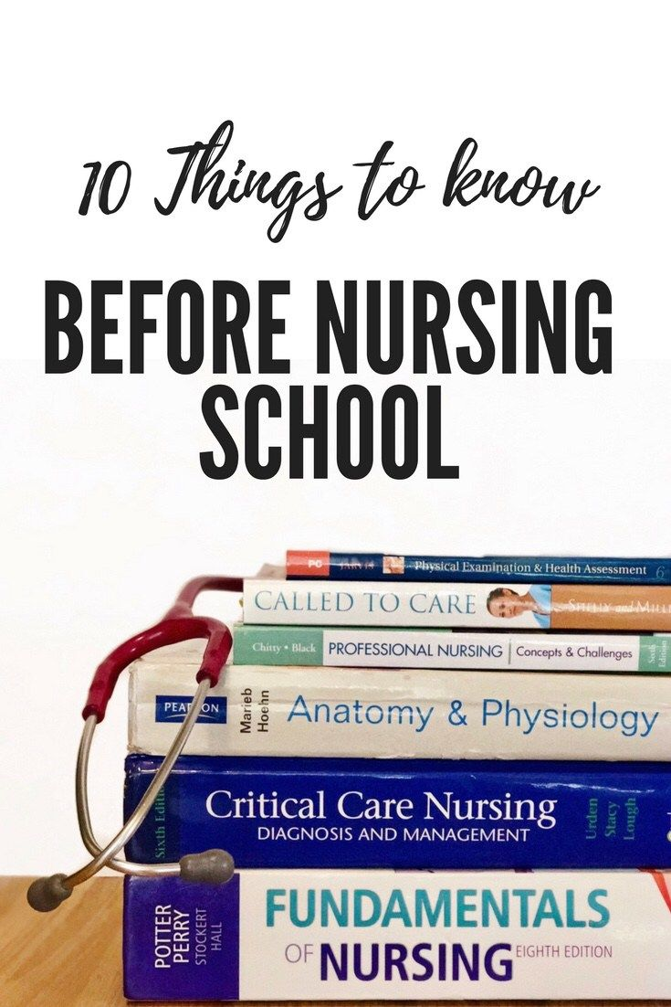 how to get into nursing school after college