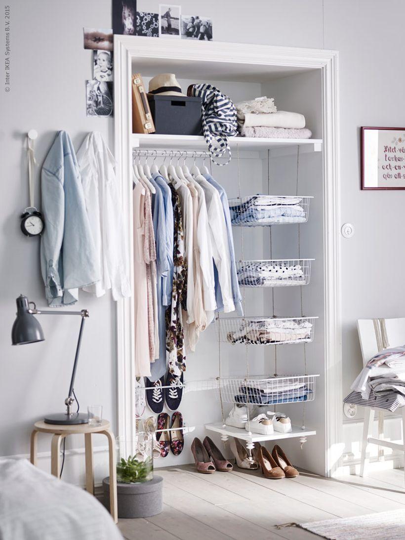 60 Inspiring Minimalist Walk In Closets Design Ideas https://decomg ...