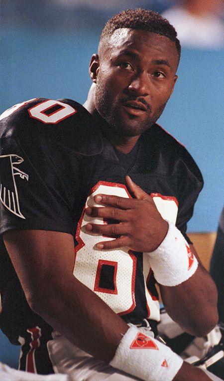 Top 50 Falcons No 14 Andre Rison Atlanta Falcons Falcons Football Atlanta Falcons Fans