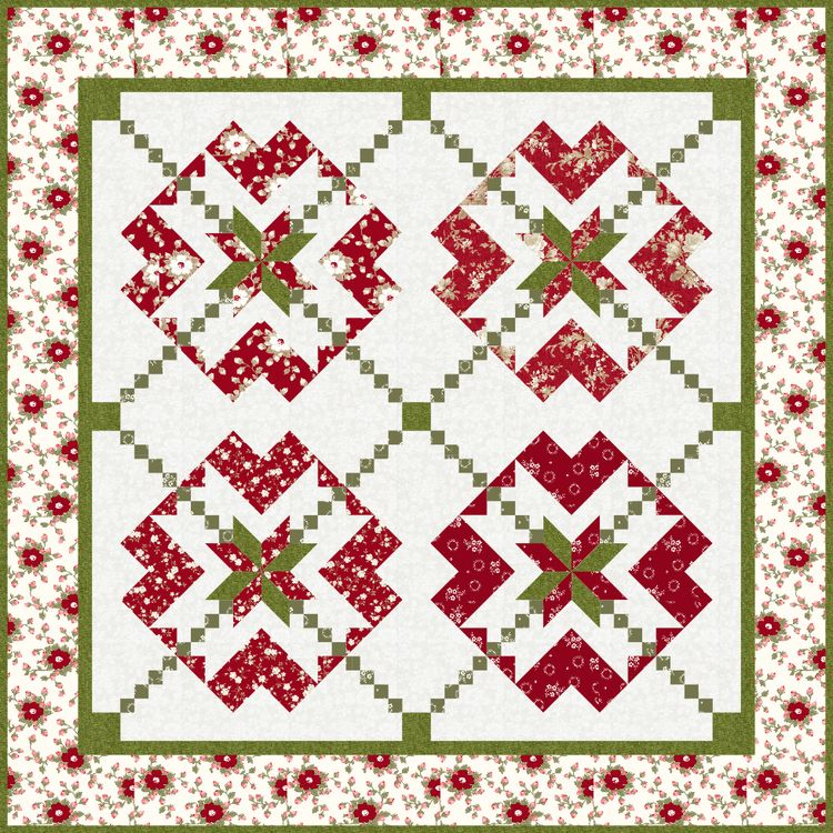 Quilted christmas gifts free pattern