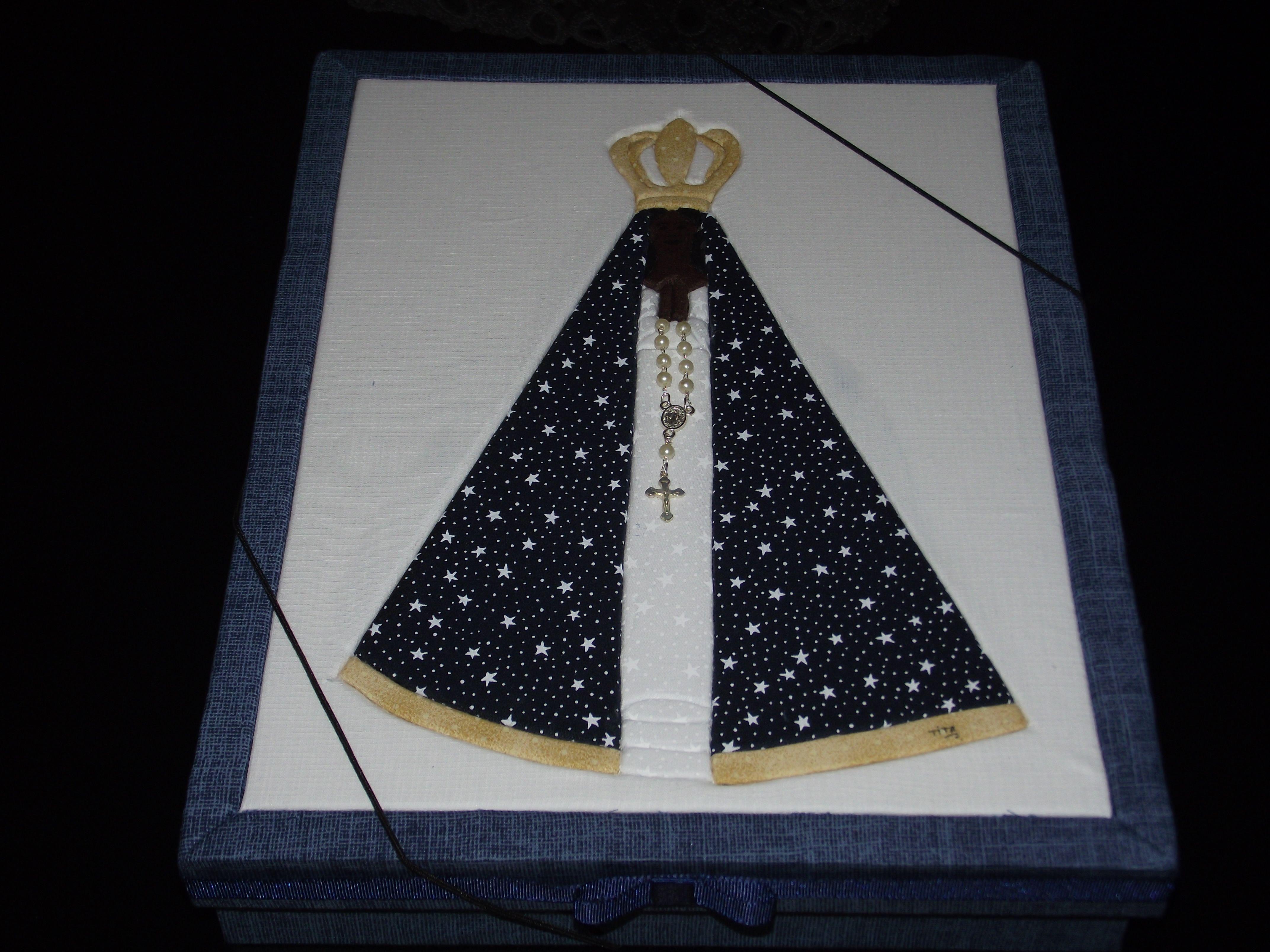 Nossa Senhora Aparecida Para Camisa: Caixa De Documentos Da Nossa Senhora Aparecida Feita Em